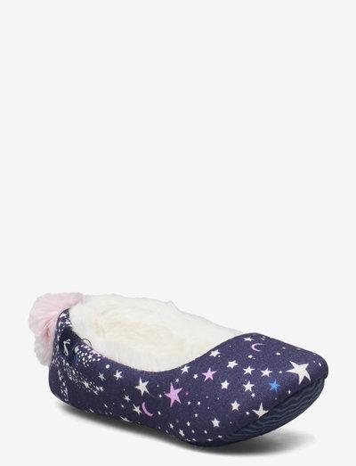Jnr Dreama - slippers - blue star horse