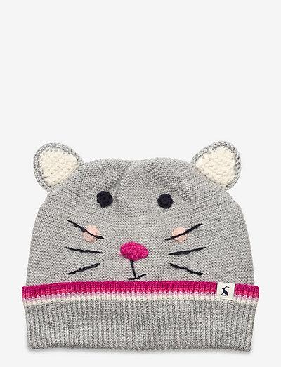 Chummy Hat - beanie - grey mouse