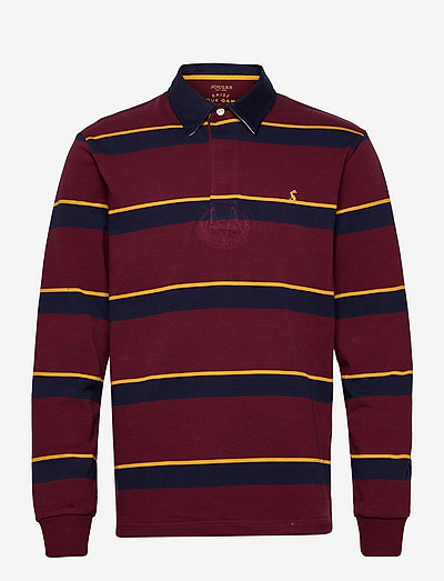 Rugby Shirt - langärmelig - port stripe