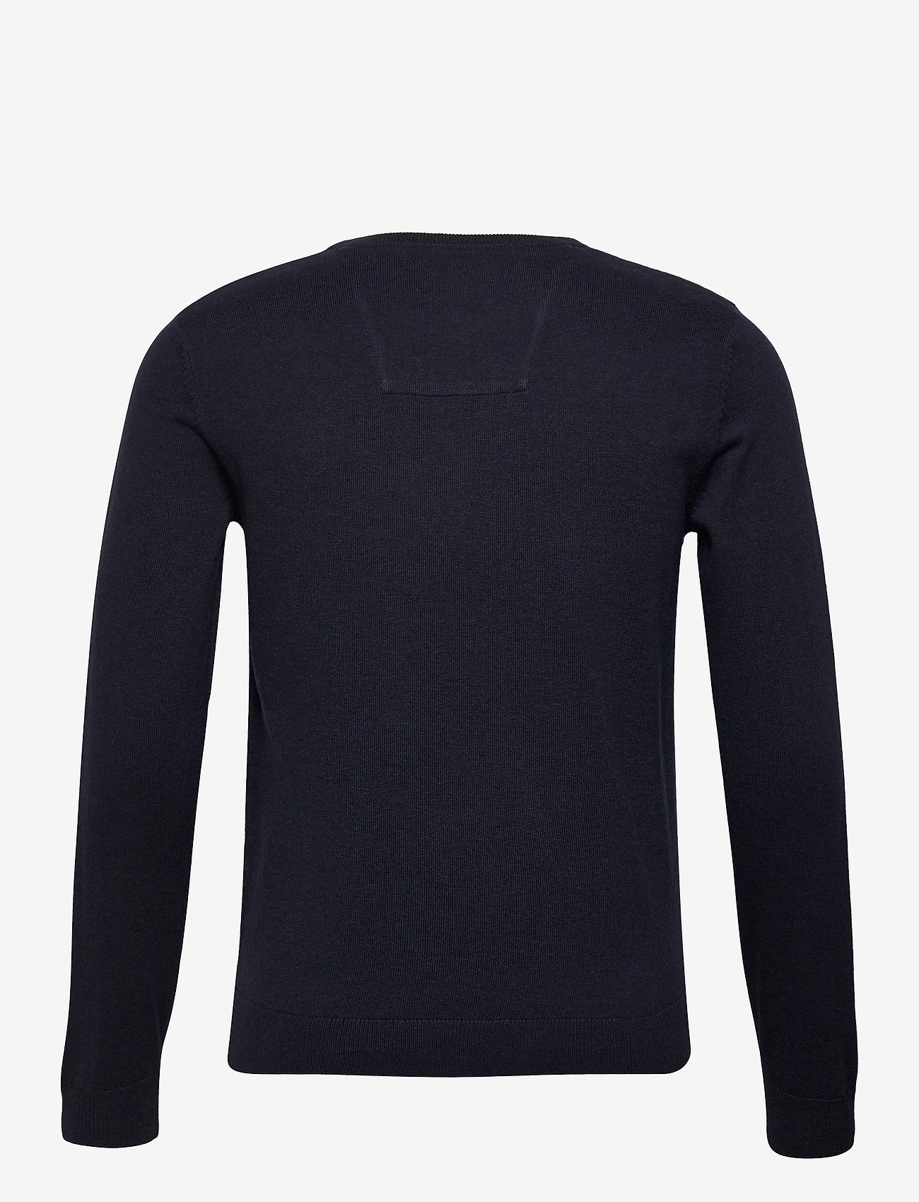 Tom Tailor basic crew n - Strikkevarer KNITTED NAVY MELANGE - Menn Klær