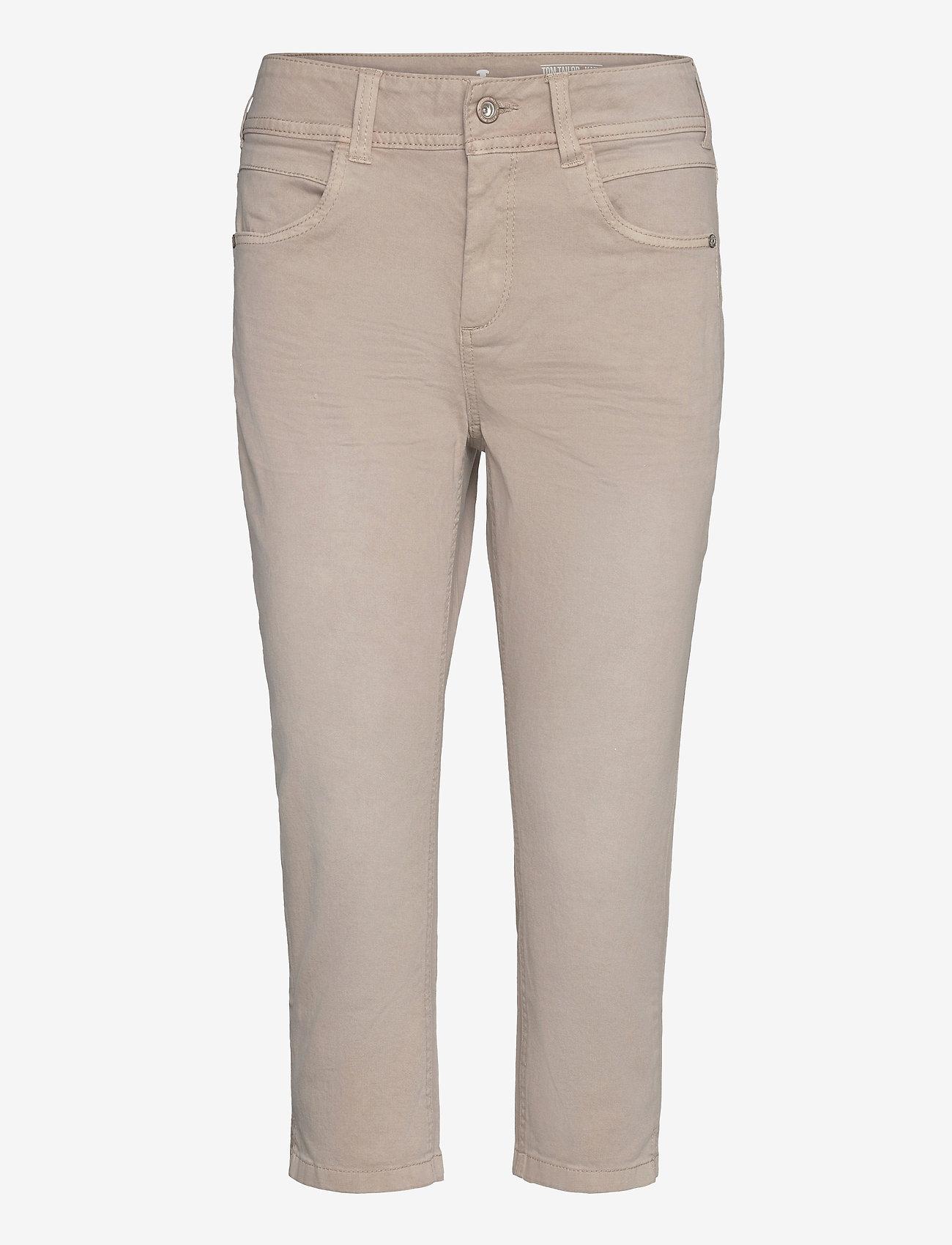 Tom Tailor - Tom Tailor K - pantalons capri - dusty taupe - 0