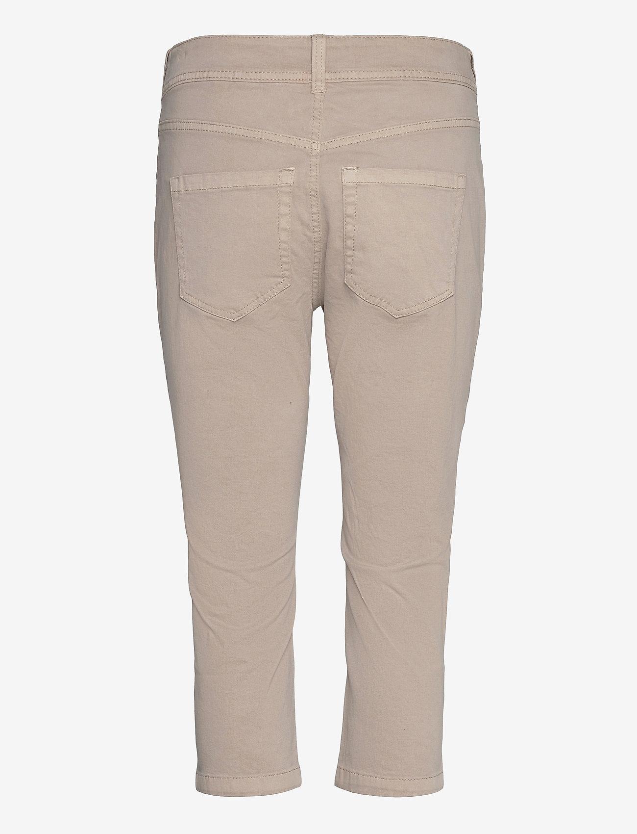 Tom Tailor - Tom Tailor K - pantalons capri - dusty taupe - 1
