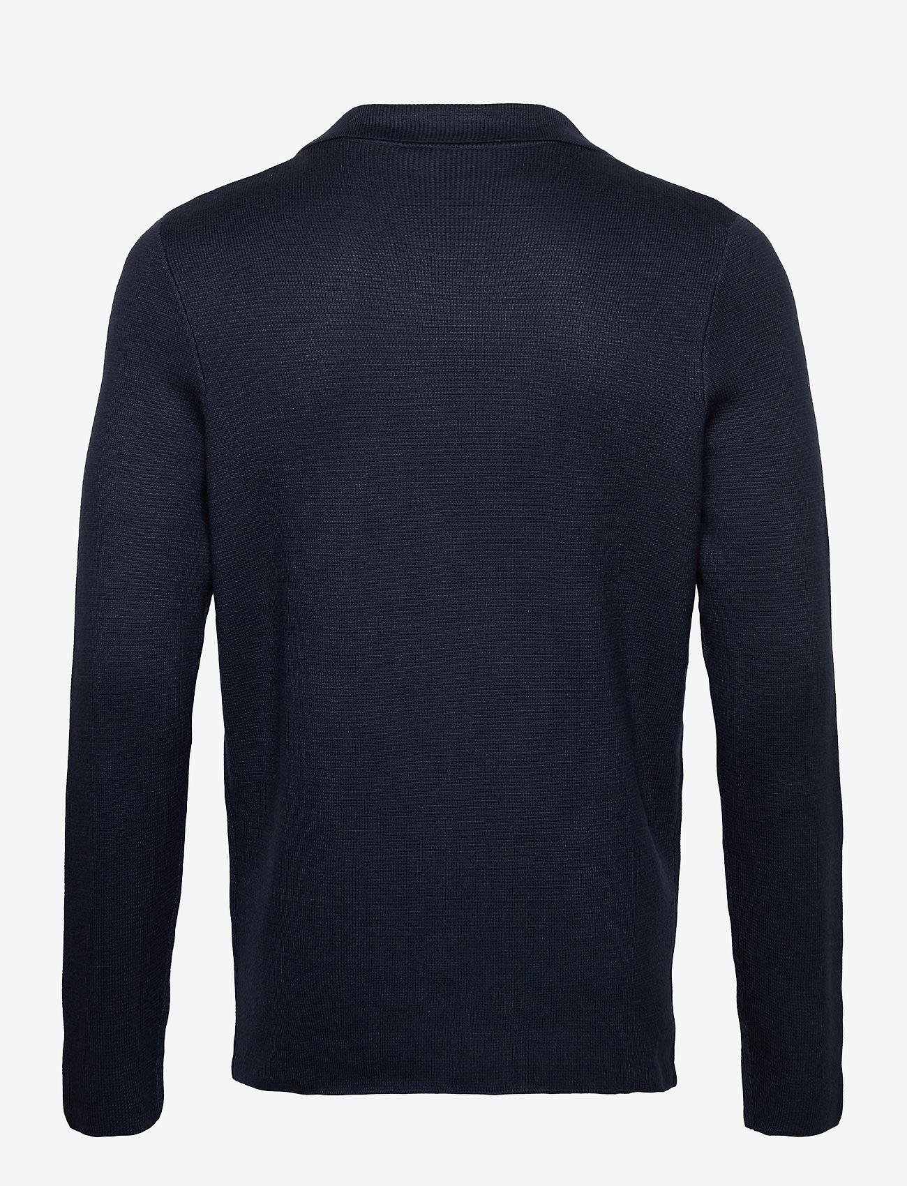 Tom Tailor knitted sakk - Strikkevarer DARK BLUE - Menn Klær