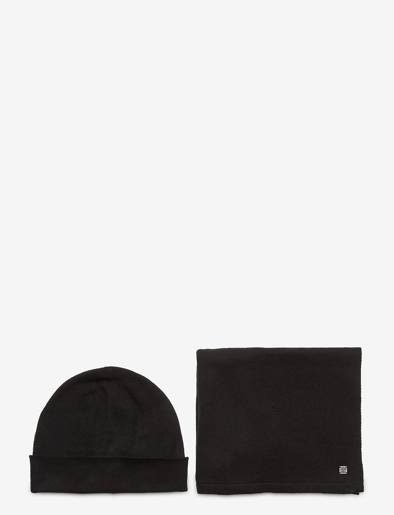 Tom Tailor - cosy christm - bonnet - black - 0