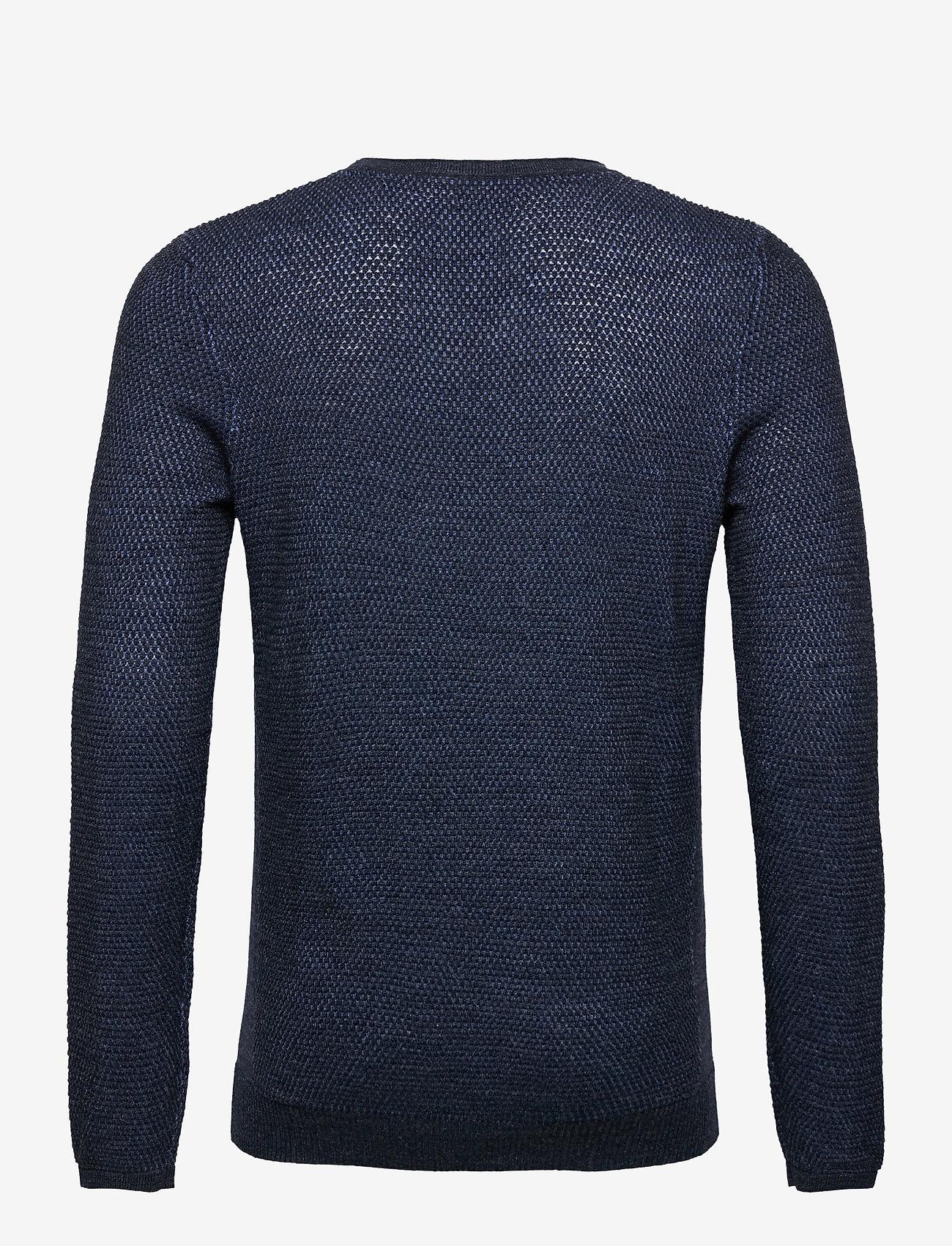 Tom Tailor sweater mini - Sweatshirts NAVY GREY PLATED - Menn Klær