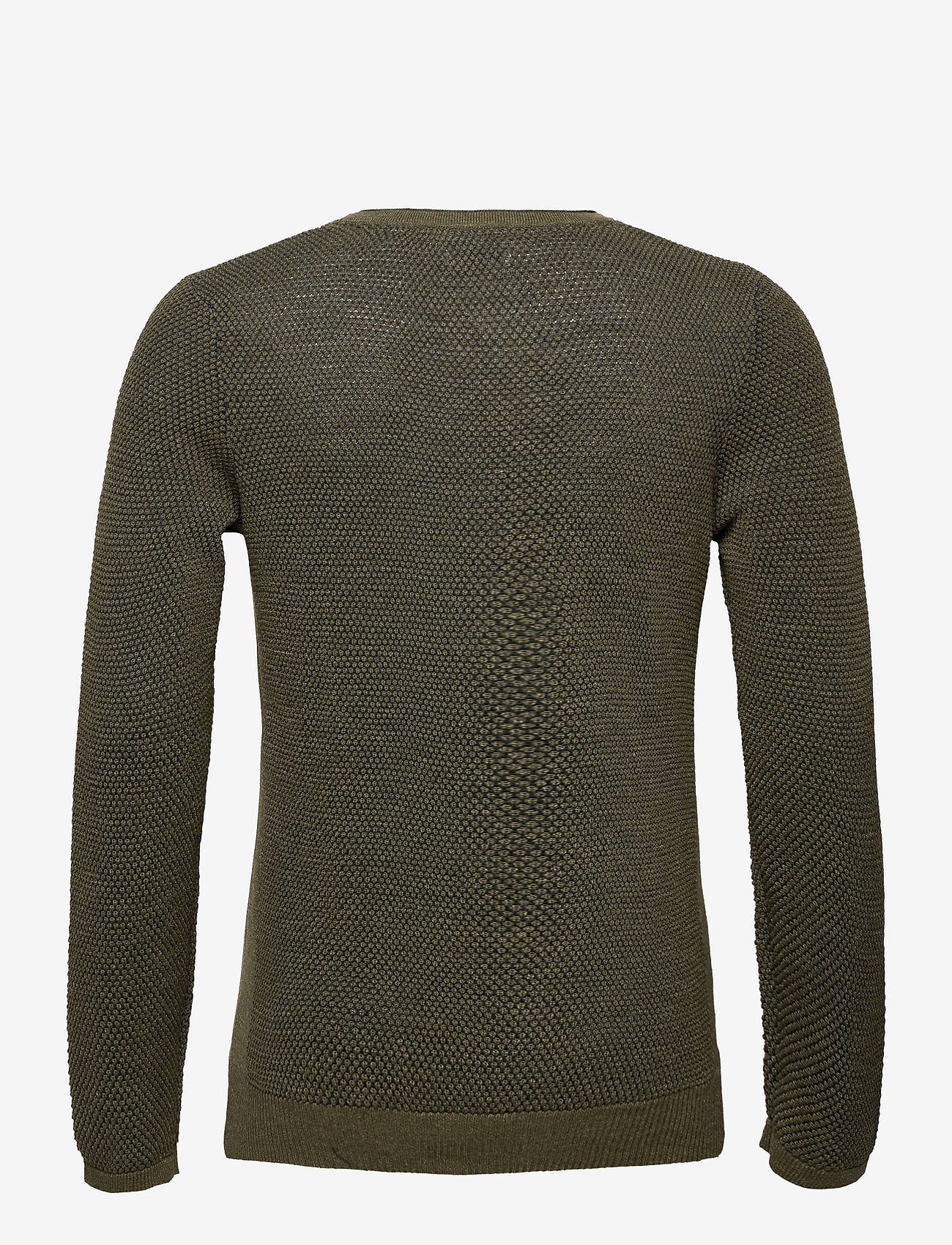 Tom Tailor sweater mini - Sweatshirts OLIVE NAVY PLATED - Menn Klær