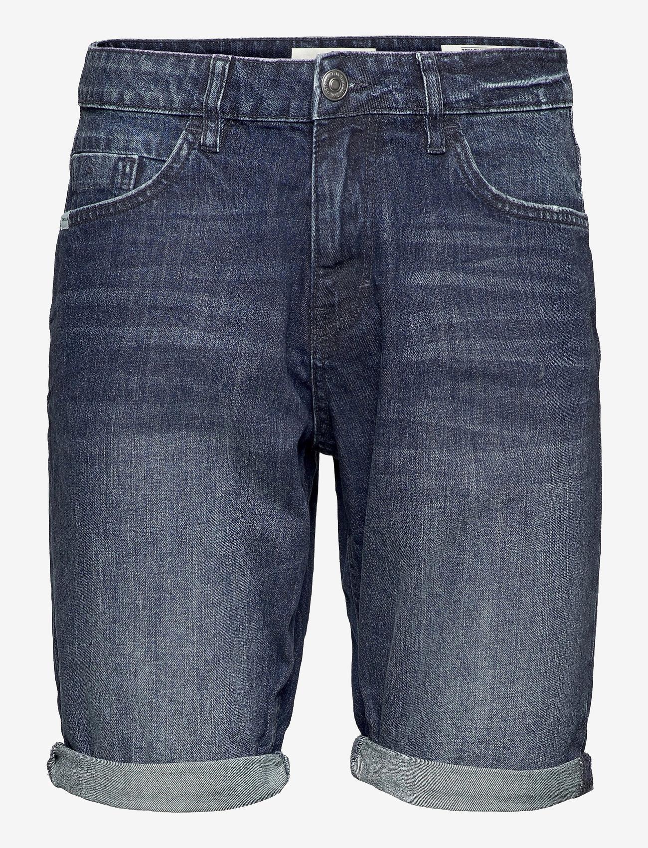 Tom Tailor - Tom Tailor J - denim shorts - mid stone wash denim - 0