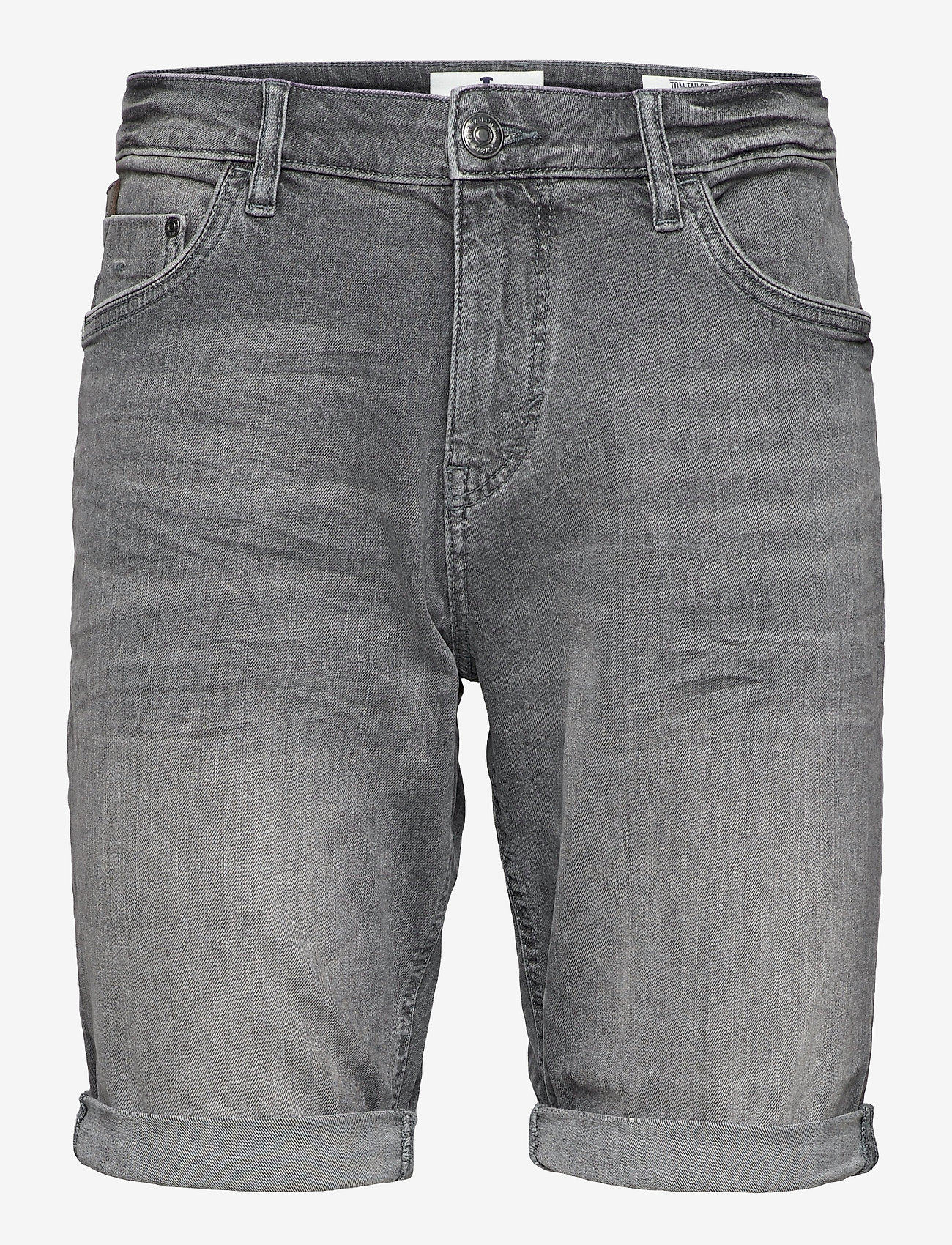 Tom Tailor - Tom Tailor J - denim shorts - clean mid stone grey denim - 0
