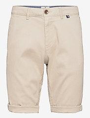chino shorts - SANDY DUST BEIGE