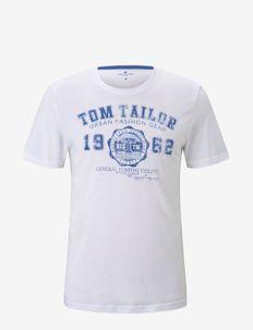 logo tee - korte mouwen - white