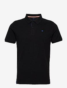 basic polo w - short-sleeved polos - black