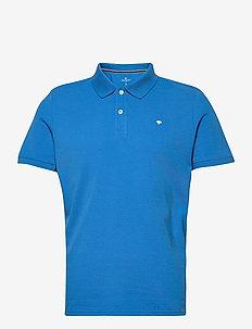 basic polo w - korte mouwen - bright ibiza blue