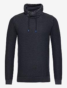 washed snood - polokrage - dark blue