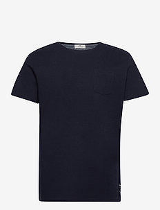 t-shirt with - basic t-shirts - dark blue