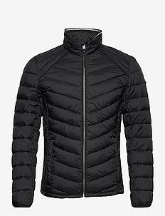 light weight - padded jackets - black