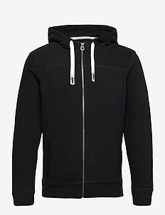 cutline hood - basic sweatshirts - black