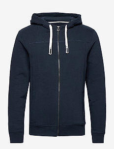 cutline hood - basic-sweatshirts - sky captain blue
