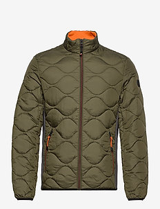 hybrid with - quilted jackets - olive night green