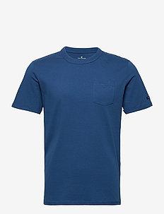basic t-shir - basic t-shirts - after dark blue