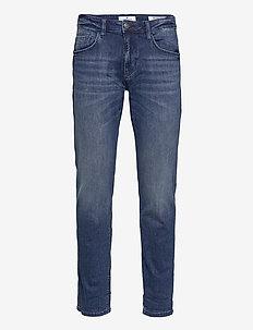 Tom Tailor J - slim jeans - mid stone wash denim
