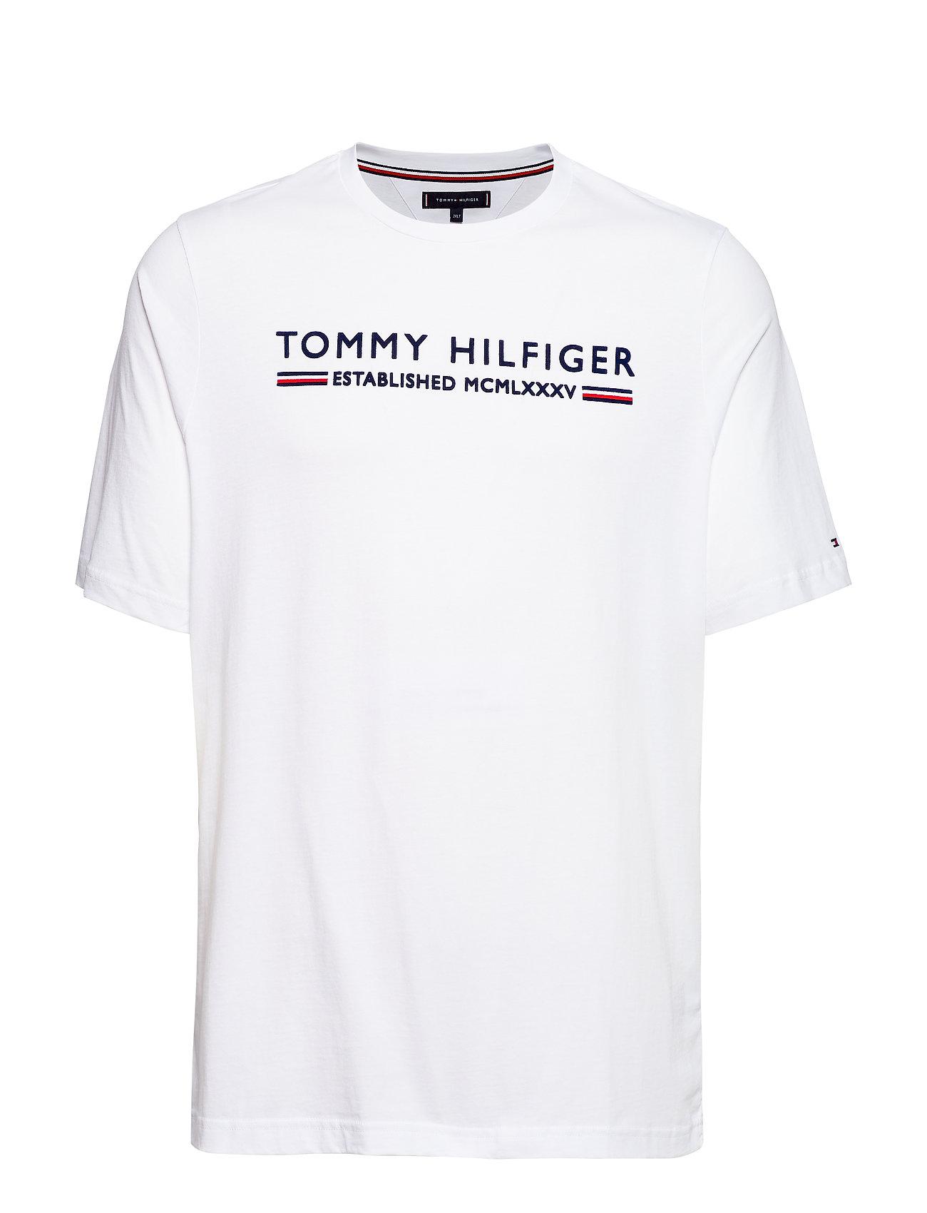 Tommy Hilfiger Big & Tall BT-TOMMY HILFIGER ES - BRIGHT WHITE