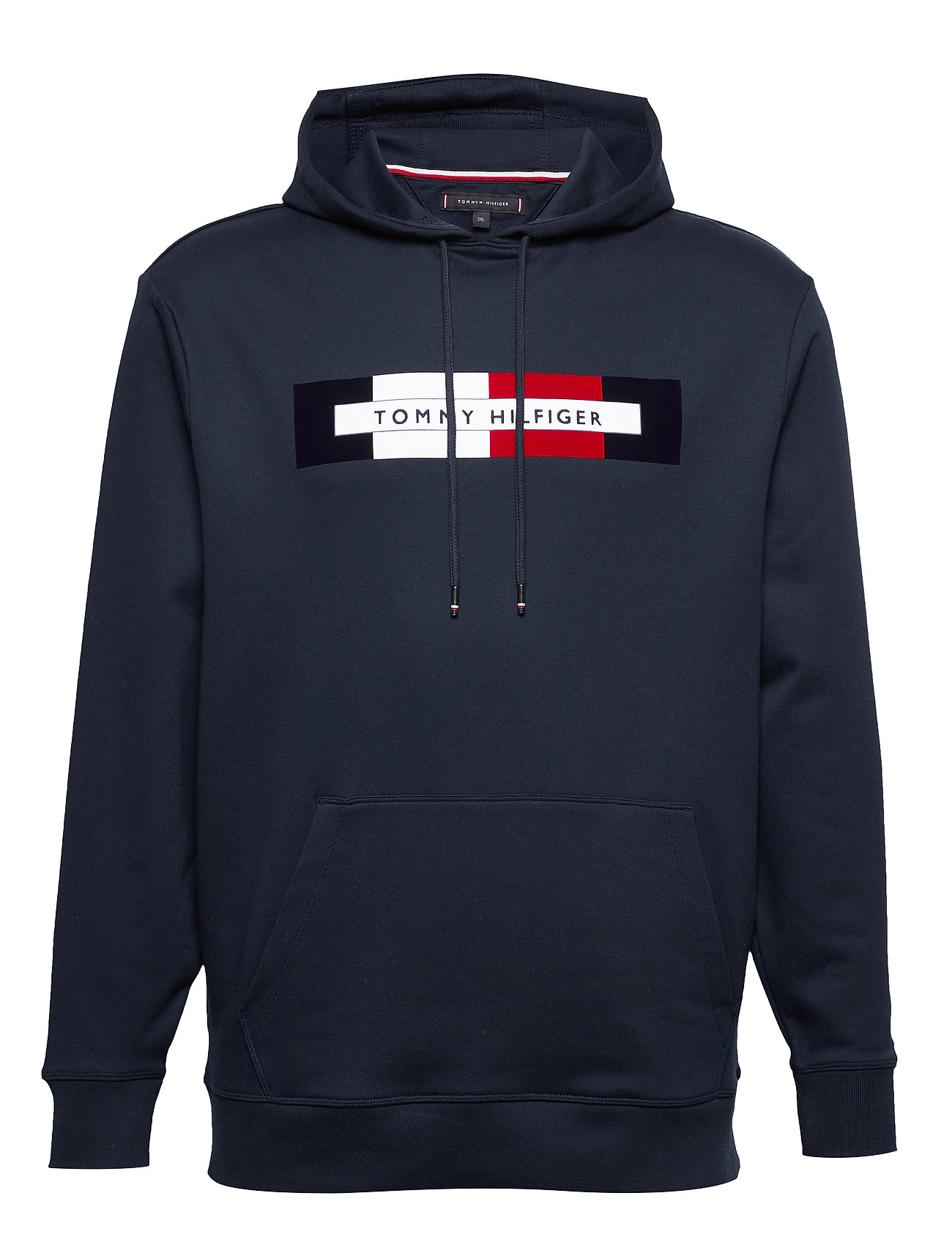 Tommy Hilfiger Big & Tall BT-HILFIGER LOGO HOODY-B - SKY CAPTAIN
