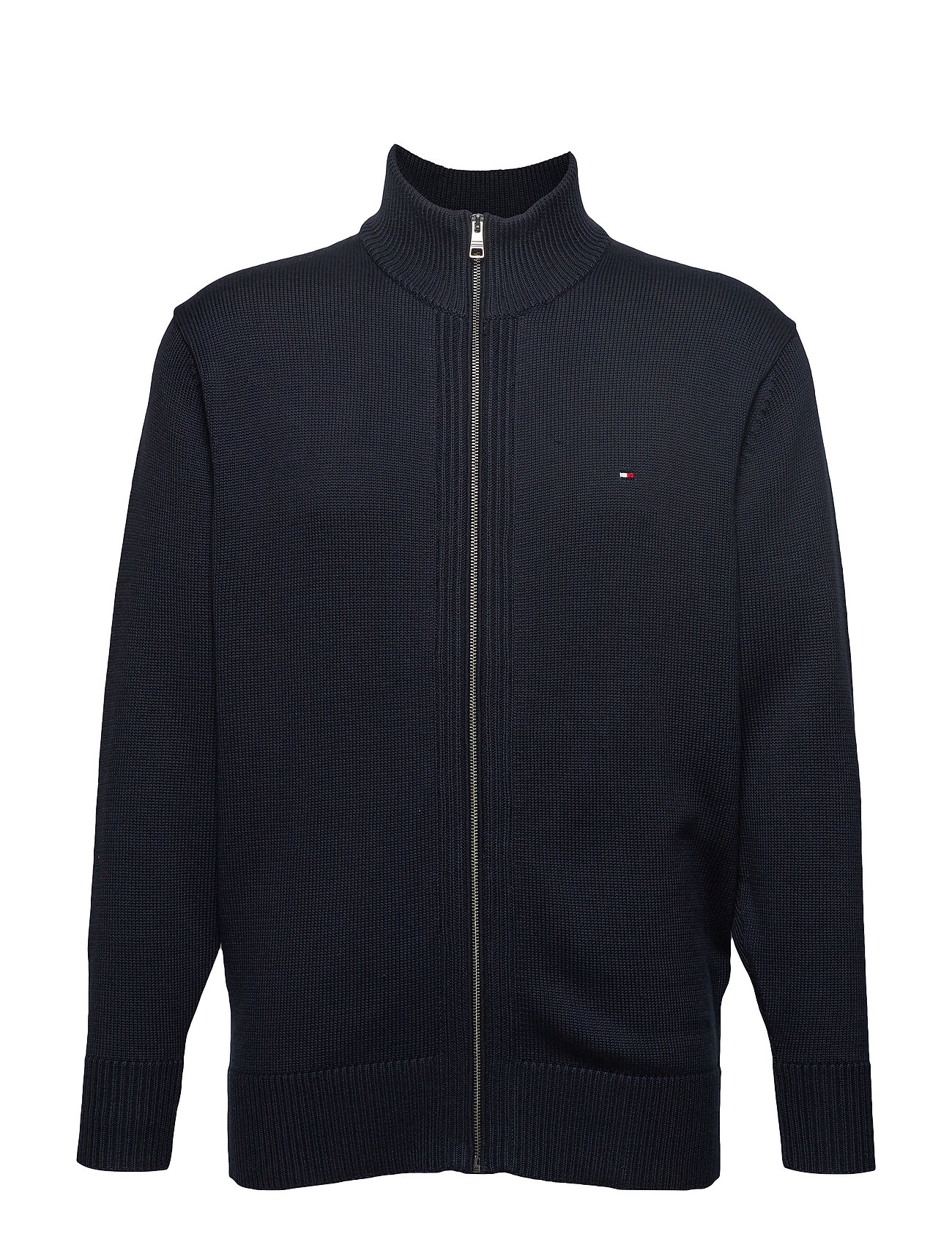 Tommy Hilfiger Big & Tall BT-CHUNKY COTTON ZIP THROUGH-B - SKY CAPTAIN