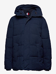 Tommy Hilfiger Big & Tall - BT-HEAVY CANVAS BOMBER-B - padded jackets - navy blazer - 0