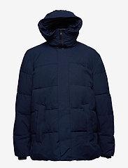 Tommy Hilfiger Big & Tall - BT-HEAVY CANVAS BOMBER-B - padded jackets - navy blazer - 1
