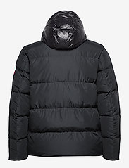 Tommy Hilfiger Big & Tall - BT-TOMMY HOODED BOMBER-B - padded jackets - jet black - 2