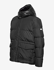 Tommy Hilfiger Big & Tall - BT-TOMMY HOODED BOMBER-B - padded jackets - jet black - 3