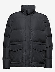 Tommy Hilfiger Big & Tall - BT-TOMMY HOODED BOMBER-B - padded jackets - jet black - 4