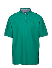 BT-HILFIGER POLO-B, - PEPPER GREEN