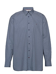 BT-ESSENTIAL MICRO DOT SHIRT-B - MEDIEVAL BLUE / MULTI