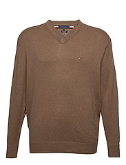 BT-PIMA COTTON CASHM - WALNUT HEATHER