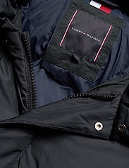 Tommy Hilfiger Big & Tall - BT-TOMMY HOODED BOMBER-B - padded jackets - jet black - 5