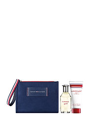 TOMMY GIRL EDT 50/BODY WASH 100ML/POUCH