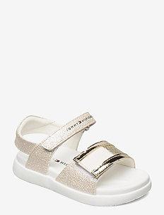 VELCRO SANDAL - sandalen - platinum
