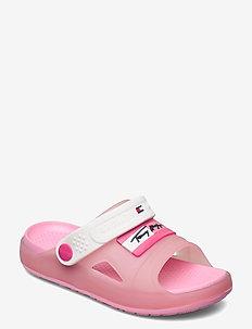 COMFY SANDAL - pool sliders - pink/white
