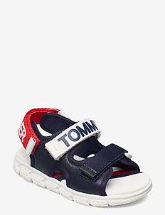 VELCRO SANDAL - sandalen - blue/white/red