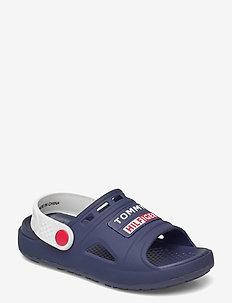 COMFY SANDAL - clogs - blue/white