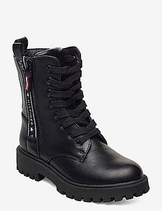 T3A5-30851-0193999- - laarzen - black