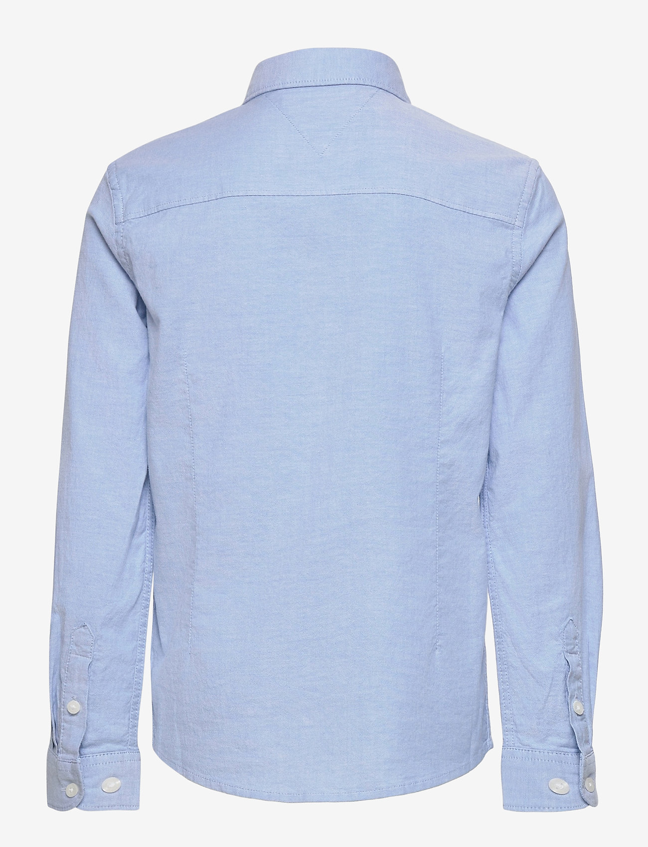 Tommy Hilfiger - BOYS STRETCH OXFORD SHIRT L/S - shirts - shirt blue - 1