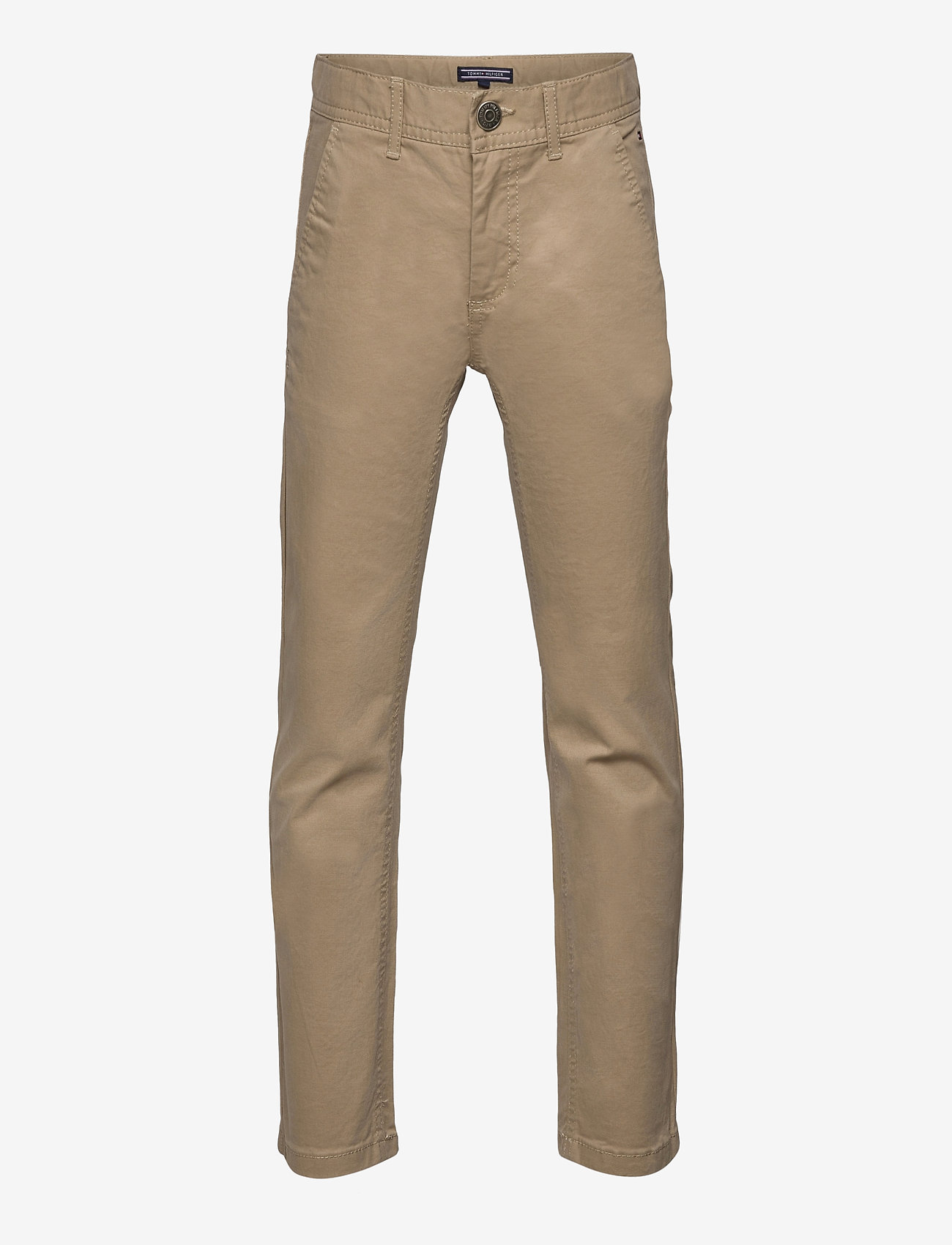 Tommy Hilfiger - BOYS SLIM CHINO OSTW PD - trousers - batique khaki - 0