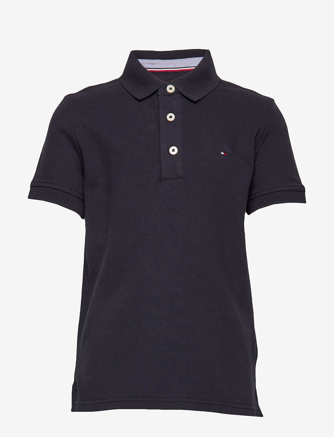 Tommy Hilfiger - BOYS TOMMY POLO S/S - polo shirts - sky captain - 0