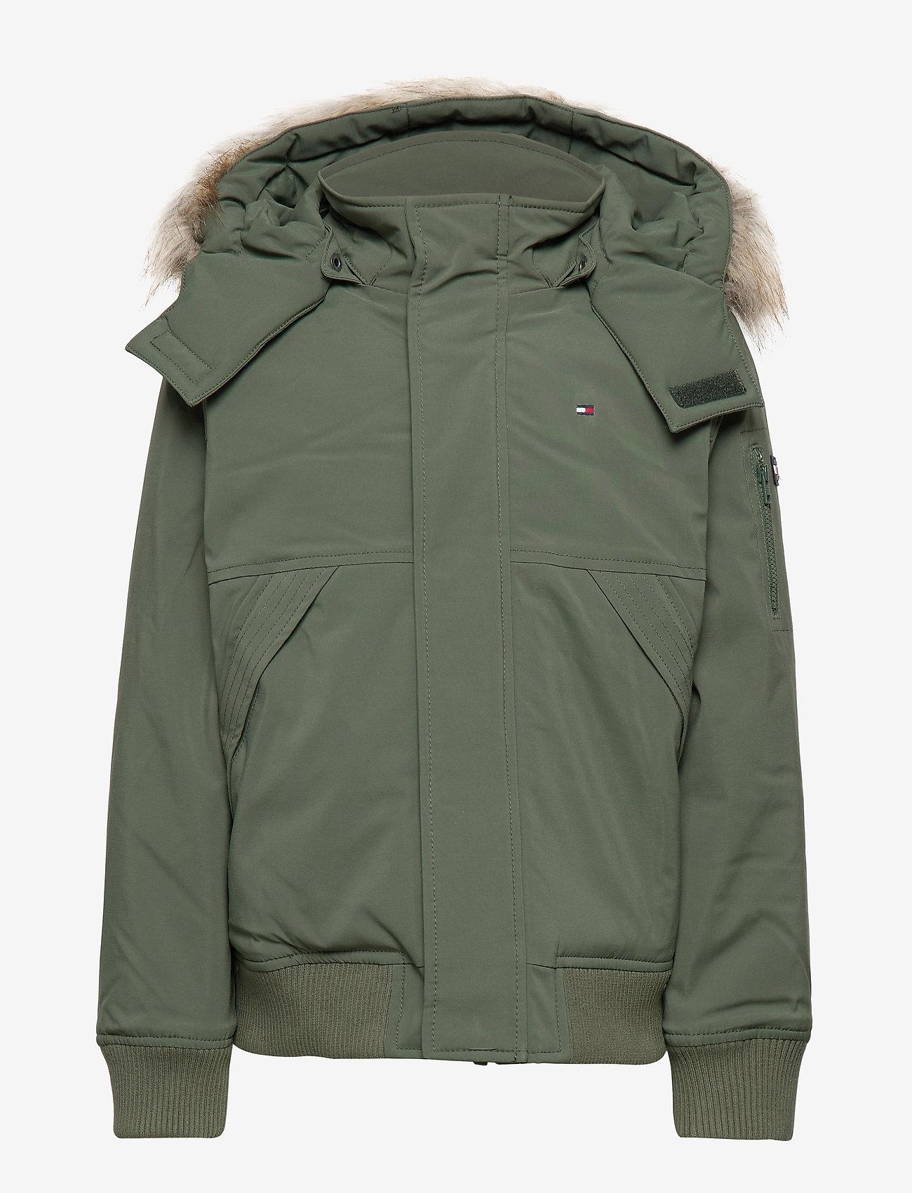 Tommy Hilfiger - TECH JACKET - bomber jackets - thyme - 1