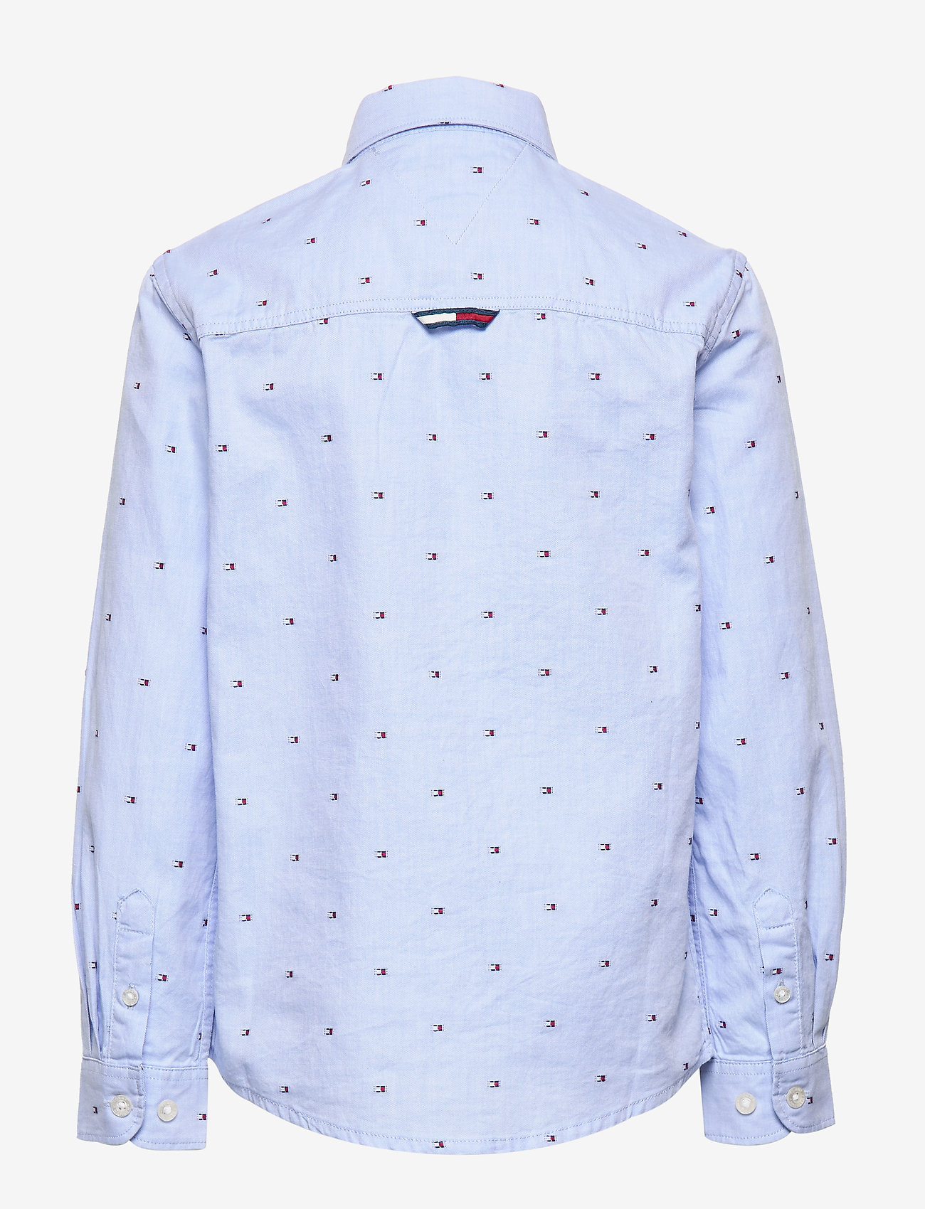 Tommy Hilfiger Flag Oxford Shirt L/ - Överdelar Regatta