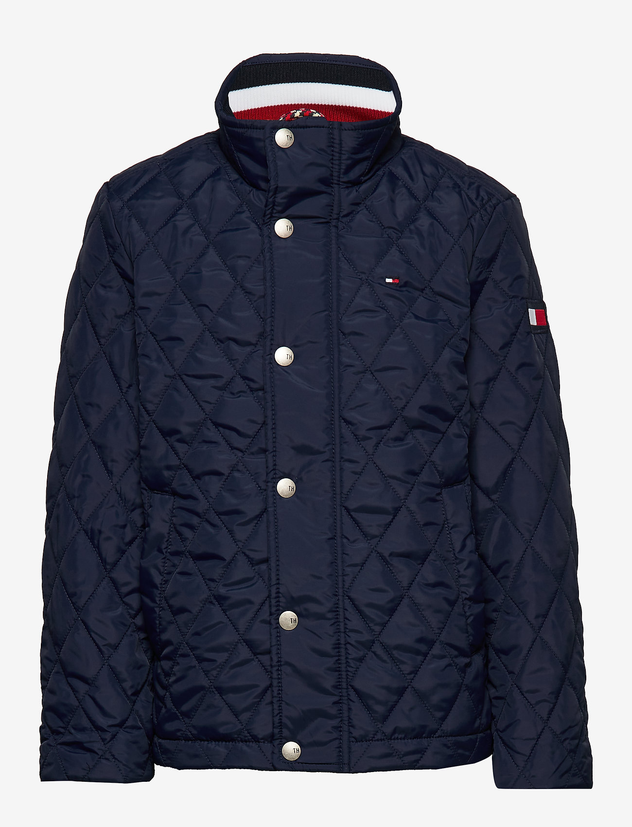 Tommy Hilfiger - CLASSIC QUILTED JACKET - puffer & padded - black iris - 1