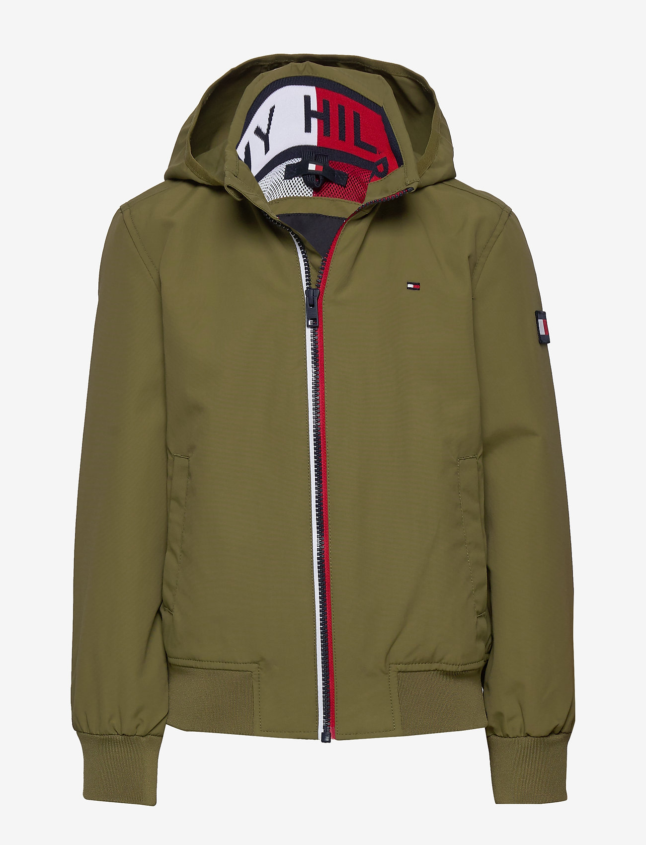 Tommy Hilfiger - ESSENTIAL JACKET - bomber jackets - uniform olive - 0