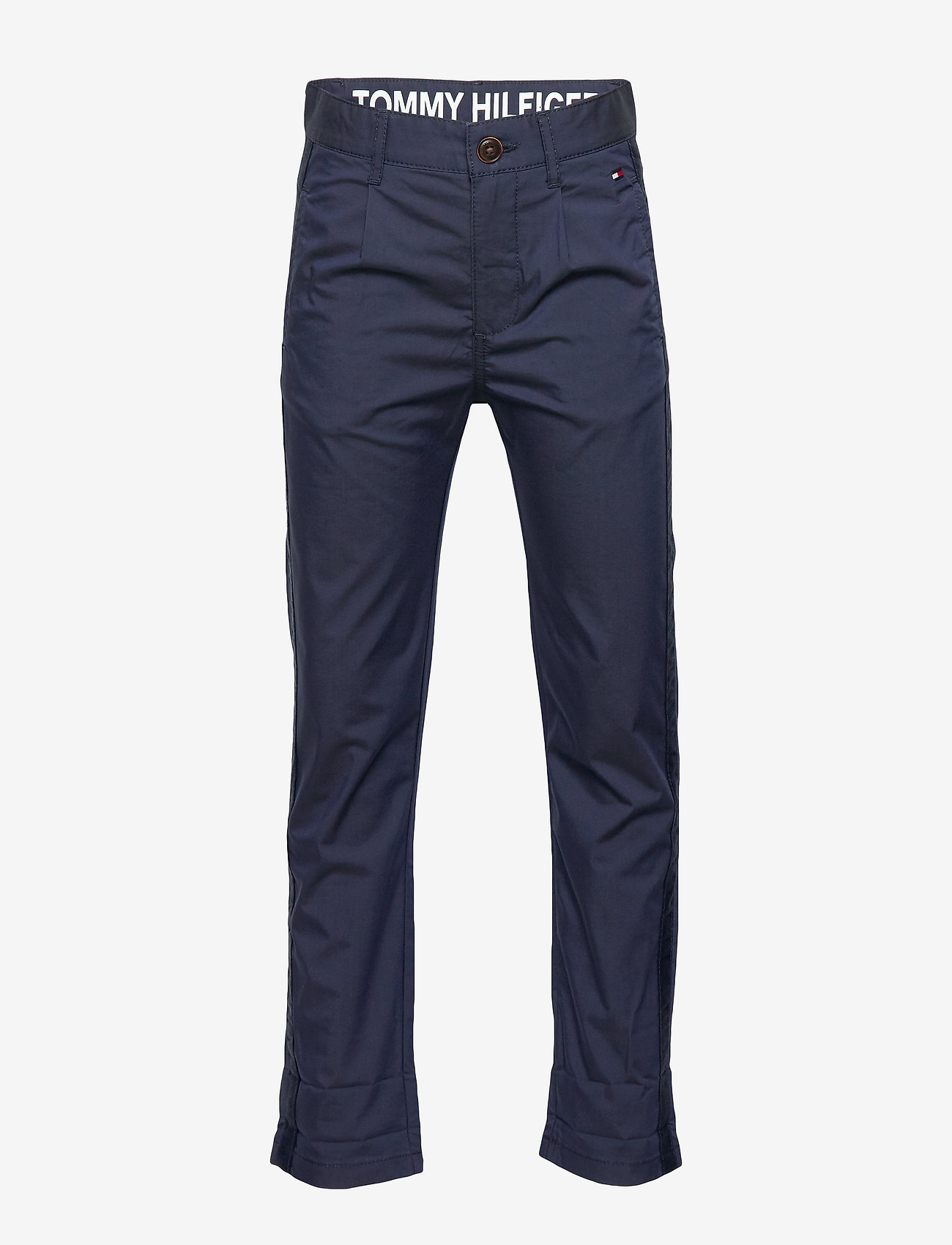 Tommy Hilfiger - PLEATED TAPE CHINO - trousers - twilight navy 654-860 - 1